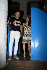 Bobby Deol with wife Tanya spotted at a party in. Olive bandra on 26th May 2019 (41)_5cebe2a98c8be.JPG