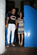 Bobby Deol with wife Tanya spotted at a party in. Olive bandra on 26th May 2019 (42)_5cebe2ab06aac.JPG