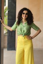 Taapsee pannu for promotion of her upcoming movie Game Over at Novotel on 3rd June 2019