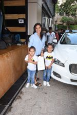 at the Birthday celebration of Tusshar Kapoor's son Lakshya at bandra on 1st June 2019