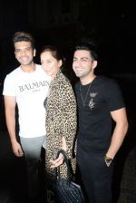 Anusha Dandekar, Karan Kundra at Ekta Kapoor_s birthday party at her residence in juhu on 9th June 2019 (64)_5d022ff176c53.JPG