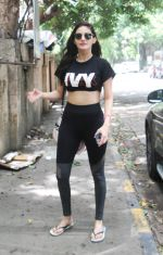 Amyra dastur spotted at gym in bandra on 13th June 2019