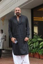 Sanjay Dutt spotted at Anand Pandit's house in juhu on 13th June 2019