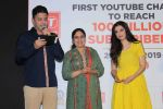 Divya Kumar , Bhushan Kumar has been felicitated with an official certificate from Guinness World Records as T-Series became the first YouTube channel to reach 100 million subscribers on 17th June 2019