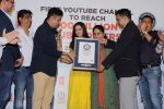 Divya Kumar , Bhushan Kumar has been felicitated with an official certificate from Guinness World Records as T-Series became the first YouTube channel to reach 100 million subscribers on 17th June 2019 (39)_5d0735a0360b9.JPG
