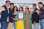 Divya Kumar , Bhushan Kumar has been felicitated with an official certificate from Guinness World Records as T-Series became the first YouTube channel to reach 100 million subscribers on 17th June 2019 (41)_5d0735a4320ef.JPG