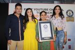Divya Kumar , Bhushan Kumar has been felicitated with an official certificate from Guinness World Records as T-Series became the first YouTube channel to reach 100 million subscribers on 17th June 2019 (50)_5d0735b10541e.JPG