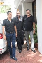 Sanjay Dutt spotted at Anand Pandit_s house in juhu on 15th June 2019 (34)_5d07444a6a890.JPG