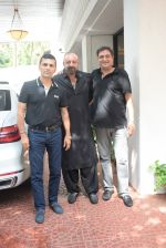 Sanjay Dutt spotted at Anand Pandit_s house in juhu on 15th June 2019 (36)_5d074457157ad.JPG