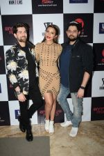 Neil Nitin Mukesh, Shama Sikander, Naman Nitin Mukesh at the Wrapup party of film Bypass Road in andheri on 20th June 2019