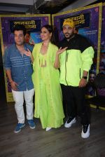 Sonakshi Sinha, Badshah, Varun Sharma for the promotions of film Khandaani Shafakhana at Tseries office in andheri on 21st June 2019