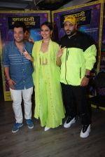 Sonakshi Sinha, Badshah, Varun Sharma for the promotions of film Khandaani Shafakhana at Tseries office in andheri on 21st June 2019 (13)_5d0de8b98b4a7.JPG