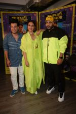 Sonakshi Sinha, Badshah, Varun Sharma for the promotions of film Khandaani Shafakhana at Tseries office in andheri on 21st June 2019 (6)_5d0de8b6ec3e7.JPG