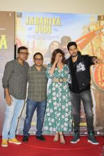 Parineeti Chopra, Sidharth Malhotra at the Trailer Launch Of Jabariya Jodi on 1st July 2019  (10)_5d1a3a65101b5.JPG