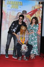 Parineeti Chopra, Sidharth Malhotra at the Trailer Launch Of Jabariya Jodi on 1st July 2019 (53)_5d1a3a7ce210d.JPG