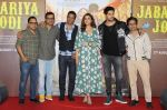 Parineeti Chopra, Sidharth Malhotra, Javed Jaffrey at the Trailer Launch Of Jabariya Jodi on 1st July 2019  (14)_5d1a3a81c07fd.JPG