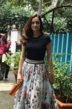 Dia Mirza spotted at Bandra on 3rd July 2019