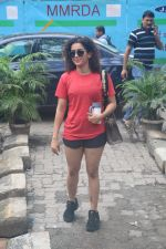 Sanya Malhotra spotted at andheri on 3rd July 2019