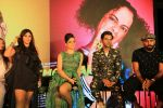 Kangana Ranaut, Rajkummar Rao, Ekta Kapoor at the Song launch of film Judgemental Hai Kya at Bombay Cocktail Bar in andheri on 7th July 2019