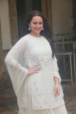 Sonakshi Sinha at the media interactions for her film Khandaani Shafakhana at Sun n Sand juhu on 8th July 2019