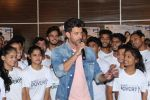 Hrithik Roshan at the promotion of film super 30 and dances with underprivileged kids from NGO Dance out of poverty on 9th July 2019 (51)_5d2595d78ba78.JPG