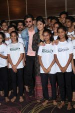 Hrithik Roshan, Mrunal Thakur at the promotion of film super 30 and dances with underprivileged kids from NGO Dance out of poverty on 9th July 2019 (14)_5d2596297d184.JPG