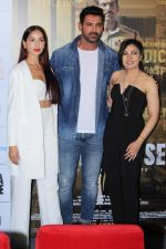 Nora Fatehi, John Abraham, Tulsi Kumar at the Trailer Launch Of Film Batla House on 10th July 2019 (29)_5d26efe24430b.JPG