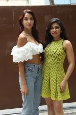 Nora Fatehi, Tulsi Kumar Spotted Of T Series Office For Promote Film Batla House on 18th July 2019 (10)_5d316ae675e90.JPG