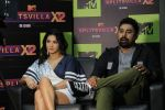 Rannvijay Singh, Sunny Leone at the Launch of Mtv splitsvilla on 17th July 2019 (18)_5d317675b1dd5.JPG