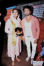 Himesh Reshammiya with wife spotted at Sidhivinayak temple on 24th July 2019 (3)_5d3aa7b87be7c.jpeg