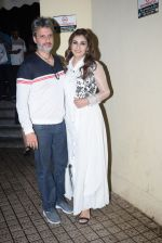 Raveena Tandon, Anil Thadani at the screening of Marathi film Girlfriend at Juhu Pvr on 25th July 2019