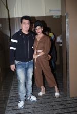 Sajid Nadiadwala, Wardha Khan at the screening of Marathi film Girlfriend at Juhu Pvr on 25th July 2019