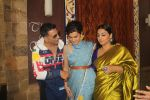 Akshay Kumar, Tapsee Pannu, Vidya Balan at the media interactions for film Mission Mangal at Sun n Sand in juhu on 3rd Aug 2019 (64)_5d47d854cff4f.JPG