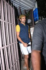 Farhan Akhtar spotted at dubbing studio in bandra on 6th Aug 2019