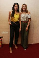 Nazia Hussain, Pooja Bisht at the promotions of Film Mushkil - Fear Behind on 6th Aug 2019 (28)_5d4a7c4951e4f.JPG