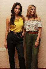 Nazia Hussain, Pooja Bisht at the promotions of Film Mushkil - Fear Behind on 6th Aug 2019 (31)_5d4a7c4c7e2ef.JPG
