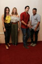 Rajneesh Duggall, Nazia Hussain, Pooja Bisht at the promotions of Film Mushkil - Fear Behind on 6th Aug 2019