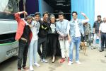 Shraddha Kapoor, Sushant Singh Rajput, Varun Sharma, Nitesh Tiwari spotted at the promotion of film Chhichhore in filmcity on 18th Aug 2019