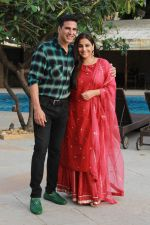 Akshay Kumar & Vidya Balan at the media interactions for film Mission Mangal at Sun n Sand on 18th Aug 2019