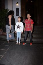 Manyata Dutt with kids Iqra & Shahran spotted at ministry of crabs in bandra on 19th Aug 2019 (1)_5d5b9da4edb9a.JPG