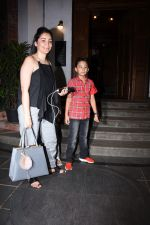 Manyata Dutt with kids Iqra & Shahran spotted at ministry of crabs in bandra on 19th Aug 2019 (10)_5d5b9e8ecaf5b.JPG
