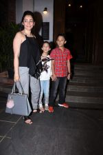 Manyata Dutt with kids Iqra & Shahran spotted at ministry of crabs in bandra on 19th Aug 2019 (14)_5d5b9e9ed046a.JPG
