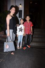Manyata Dutt with kids Iqra & Shahran spotted at ministry of crabs in bandra on 19th Aug 2019 (16)_5d5b9ea54b15e.JPG