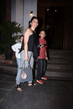 Manyata Dutt with kids Iqra & Shahran spotted at ministry of crabs in bandra on 19th Aug 2019 (9)_5d5b9e88b8530.JPG