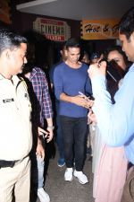 Akshay Kumar attends the special screening of film Mission Mangal hosted for BMC workers at plaza cinema in Dadar on 20th Aug 2019 (1)_5d5cf4c3bef2c.JPG