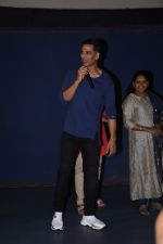 Akshay Kumar attends the special screening of film Mission Mangal hosted for BMC workers at plaza cinema in Dadar on 20th Aug 2019 (35)_5d5cf5410ade3.JPG