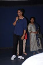 Akshay Kumar attends the special screening of film Mission Mangal hosted for BMC workers at plaza cinema in Dadar on 20th Aug 2019 (37)_5d5cf5445ab6d.JPG