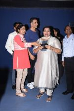 Akshay Kumar attends the special screening of film Mission Mangal hosted for BMC workers at plaza cinema in Dadar on 20th Aug 2019 (45)_5d5cf5568e4a6.JPG