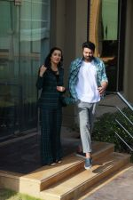 Prabhas and Shraddha Kapoor spotted promoting their upcoming movie Saaho in JW Marriott on 20th Aug 2019 (52)_5d5cf58ee0350.jpg