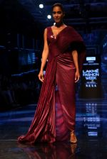 Lisa Haydon walk the ramp at Lakme Fashion week 2019 for designer Amit Aggarwal on 21st Aug 2019 (23)_5d5e44f98f6a3.JPG